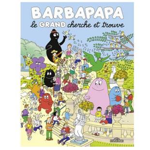 Le grand cherche et trouve Barbapapa